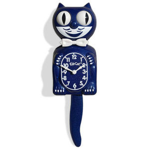 Urban Outfitters Galaxy Blue Kit-Cat Clock